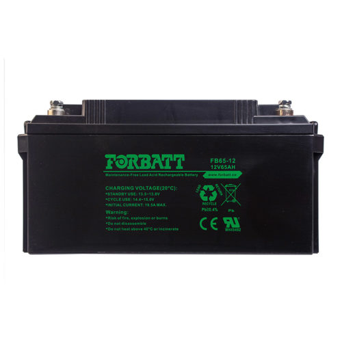 Forbatt Lead Acid Batteries FB65-12 12V65AH