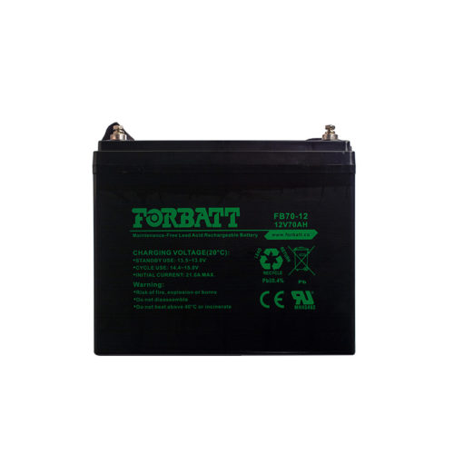 Forbatt Lead Acid Batteries FB70-12 12V70AH
