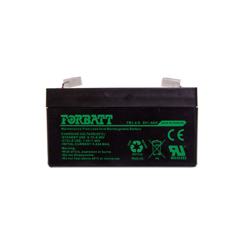 FB1.4-6 6V1.4AH 6V Batteries