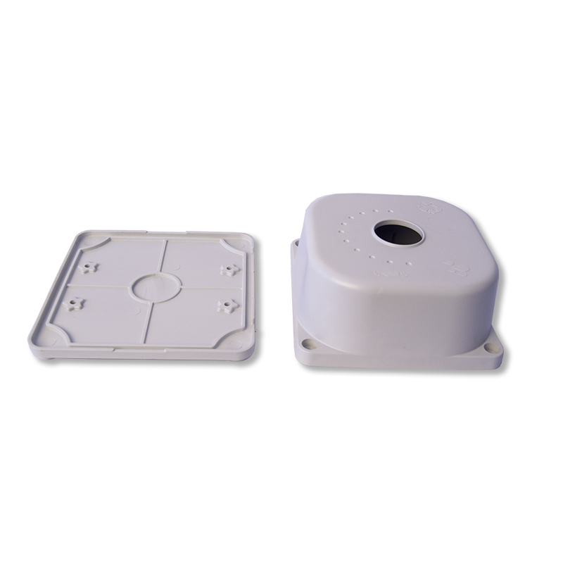 PVC-CCTV-Camera-Mounting-Box-removable-front-cover